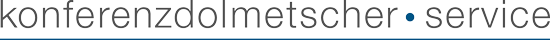 Konferenzdolmetscher-Service Logo