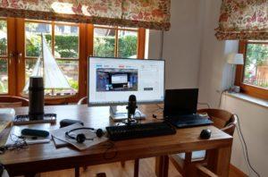 Dolmetscher für Videokonferenzen