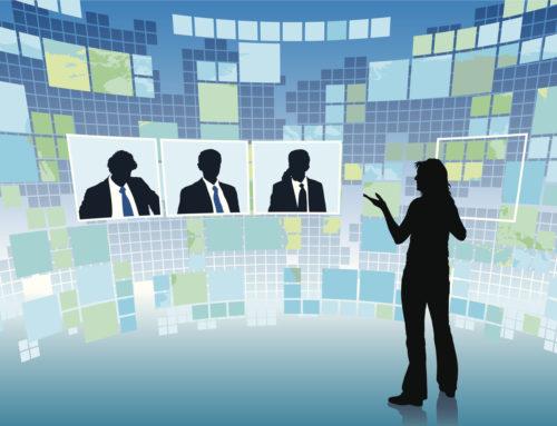Videokonferenz mit Dolmetschern